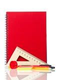 School exercise-book Stock Photography