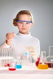School experiment Royalty Free Stock Photo