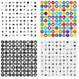 100 school festival icons set vector variant. 100 school festival icons set vector in 4 variant for any web design isolated on white Stock Photo