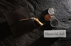 School financial aid Stock Photos