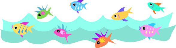 School of Fish Royalty Free Stock Photography