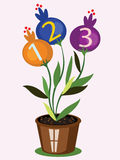 School Flower Royalty Free Stock Images