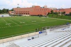School Football Field Stock Photography