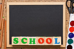 School frame Stock Photo