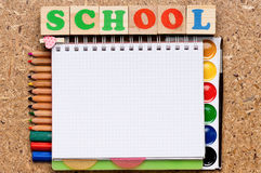 School frame Royalty Free Stock Image