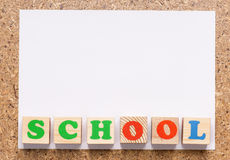 School frame Royalty Free Stock Photography
