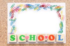 School frame Stock Photos
