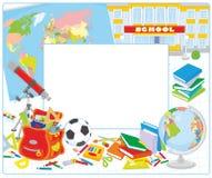 School frame Royalty Free Stock Image