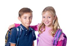 School friends Royalty Free Stock Image