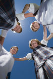 School Friends Forming Huddle Stock Photos