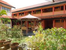School garden Stock Photo