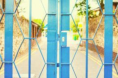 School gate Royalty Free Stock Photography