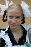 School girl. Uniform for school girl stock photography