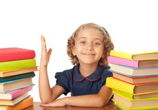School-girl Royalty Free Stock Photo