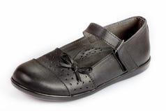 School Girl Black Shoe Stock Images