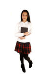 School girl with book. Stock Image