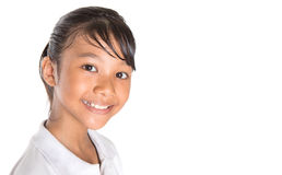 School Girl Close Up III Royalty Free Stock Photos