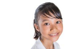 School Girl Close Up V Royalty Free Stock Photos