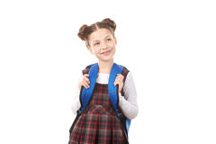 School girl dreaming Royalty Free Stock Photography