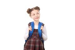 School girl dreaming Stock Photos