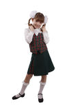 School girl. Education stock photos