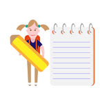 School girl Royalty Free Stock Images