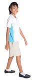 School Girl In School Uniform IX Royalty Free Stock Image