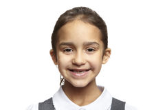 School girl smiling Stock Photo
