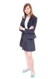 School girl standing Royalty Free Stock Photos