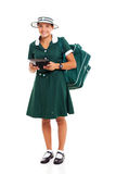 School girl tablet Royalty Free Stock Photography