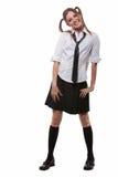 School girl uniform Royalty Free Stock Photo