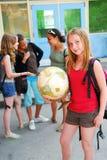 School girls royalty free stock photography
