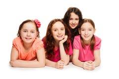 School girls party Stock Photos