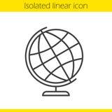 School globe linear icon Royalty Free Stock Image