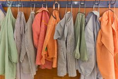 School gowns Stock Image