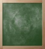 School greenboard in houten kader royalty-vrije stock foto's