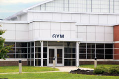 School Gym. Modern Building of school gym with Stock Photos