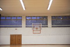 School gym Stock Image