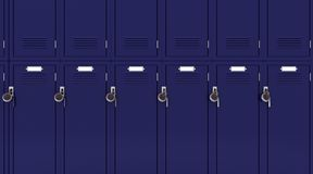 School gym locker Stock Image