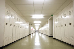 School Hallway Royalty Free Stock Photography