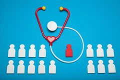 School health cardiology day, children heart cancer concept.  royalty free stock photos