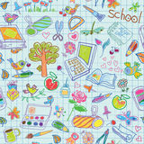 School holiday background Stock Images