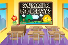 School holidays theme image 3 Stock Images