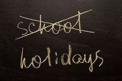School holydays Royalty Free Stock Photos