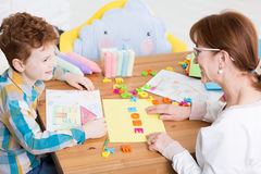 School at home can be fun Royalty Free Stock Photography