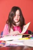 School homework Stock Images
