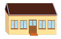 School house illustration Stock Photo