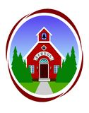 School icon Royalty Free Stock Image