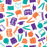 School icon color pattern Stock Images