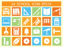 School icon Stock Photography